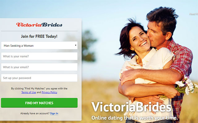 Most reliable online dating service – Victoriabrides.com